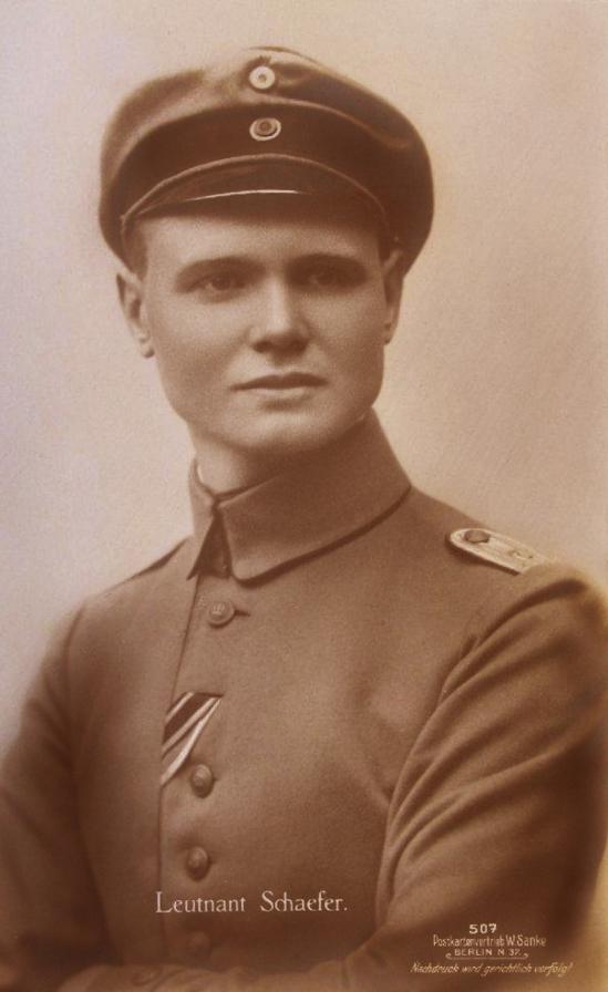 Leutnant Emil Schaefer